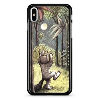 Where The Wild Things Are Moon iPhone X Case