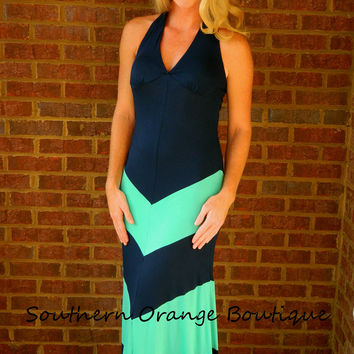 Midnight Halter Maxi