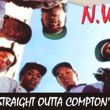 N.W.A. Straight Outta Compton Poster 12x24
