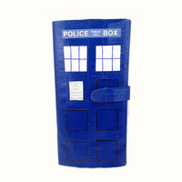 Doctor Who TARDIS Duct Tape Clutch Women's Wallet