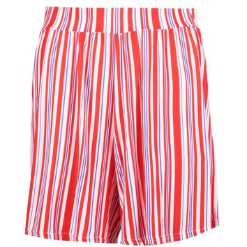 Sasha Stripe Flippy Shorts | Boohoo