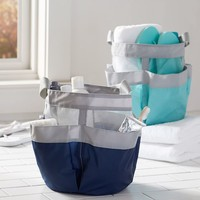 Shower Mesh Caddy, Color-Blocked