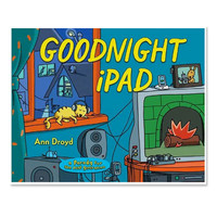 Goodnight Ipad - mini mioche - organic infant clothing and kids clothes - made in Canada