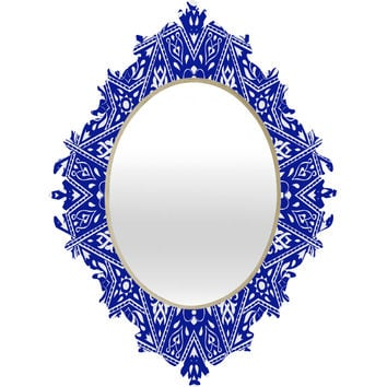 Aimee St Hill Amirah Blue Baroque Mirror