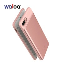 WOJOQ Battery Charger Case For iPhone 6 6s 7 Plus Battery Case Power Bank Battery Charging Case Powerbank Cover