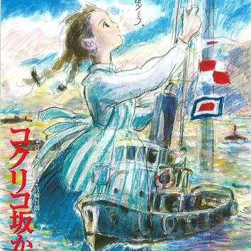 From Up on Poppy Hill (Japanese) 11x17 Movie Poster (2011)