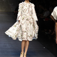 Dolce & Gabbana Women Fashion Show Gallery – Spring Summer 2014 Collection