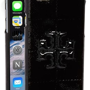 Tory Burch 'Marion' Patent Leather iPhone 6 Case