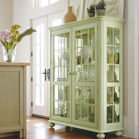 PoshLiving - Coastal Living China Cabinet in Choice of Color - Product Images