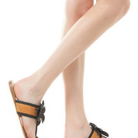 Braid Detailed Toe Cage Sandals
