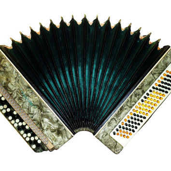 Ukrainian Ukraine, 100 Bass, Button Bayan, Accordion Instrument, 478