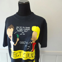 Vintage NEW Beavis and Butthead Graphic Tee 1993