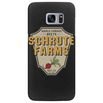 World Famous Beets Schrute Farms Samsung Galaxy S7 Edge