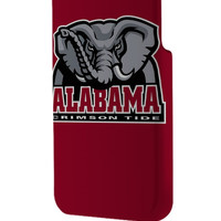Best 3D Full Wrap Phone Case - Hard (PC) Cover with Alabama Crimson Tide NCAA Logo Design
