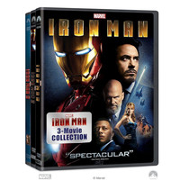 Iron Man 1 2 3 - 3 Movie Collection Trilogy DVD AVENGERS Captain American