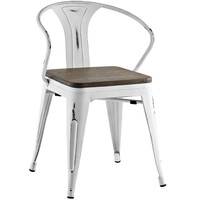 Promenade Dining Chair White