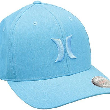 Hurley Cap PHANTOM BOARDWALK FLEXFIT HAT blue lagoon, S/M