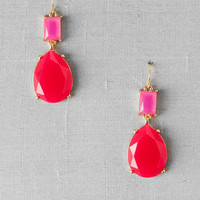 Burma Jeweled Drop Earrings