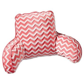 Room Essentials Bed Rest Peach Chevron