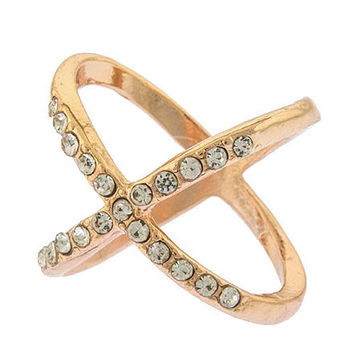 X Ring (Rose-Gold)