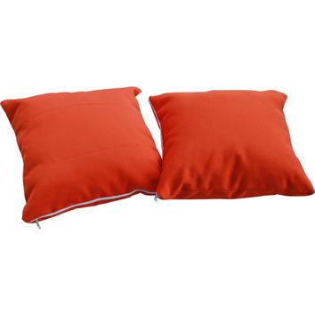 Modern Patio Furniture Allegra Pillow Orange