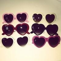 Belle La Vie Boutique — Heart Sunglasses