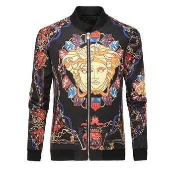 Versace Men or Women Fashion Casual Cardigan Jacket Coat