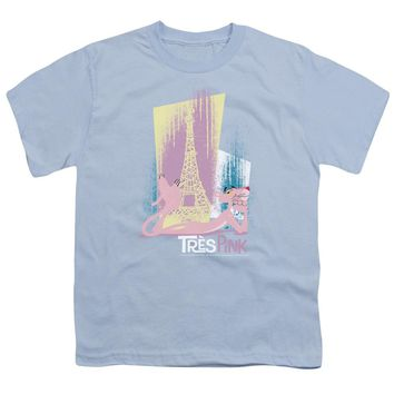 Pink Panther - Tres Pink Short Sleeve Youth 18/1
