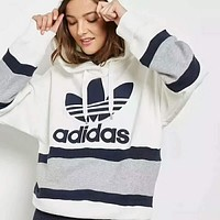 ADIDAS tide brand casual fashion casual hooded sweater F-HYLFZC