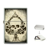 Ace Death Card Zippo like lighter