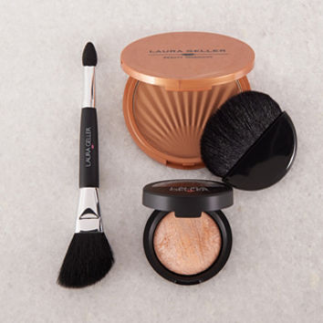 Laura Geller Bronze N Glow 4-piece Collection — QVC.com