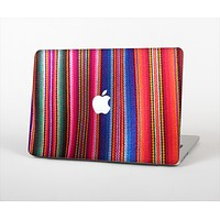 The Colorful Striped Fabric Skin Set for the Apple MacBook Pro 15""