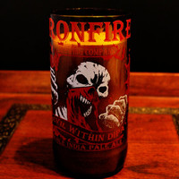 Natural Soy Beer Bottle Candle Iron Fire Devil Within
