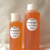 Rose Hip Seed Oil - Organic, Cold Pressed