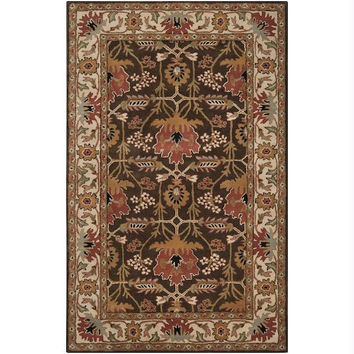 Area Rug - 5' X 8' - Colors Include Bronze,coffee Bean,jet Black,dark Olive Green,sienna,desert Sand, Golden Brown,raw Umber