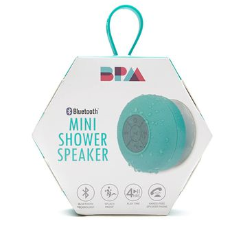 BPM Bluetooth Mini Shower Speaker