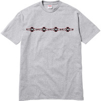 Supreme: Supreme/Independent® Logo Tee - Heather Grey