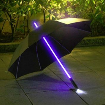 Rainbow Flash LED Umbrella