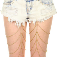 CHAIN GANG GARTER BELT
