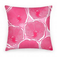 Large Pink Poppy Flower Pattern