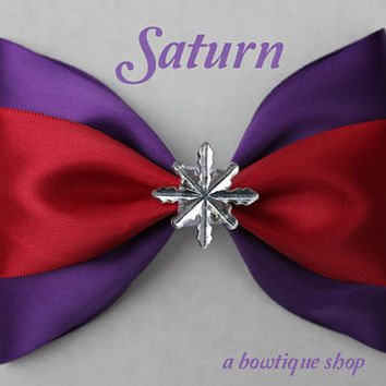 saturn hair bow regular or super