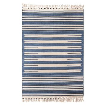 Mudhut™ Beaded Flatwoven Stripe Area Rug