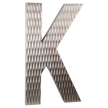 Wood Letter, K Design, Large, Letters
