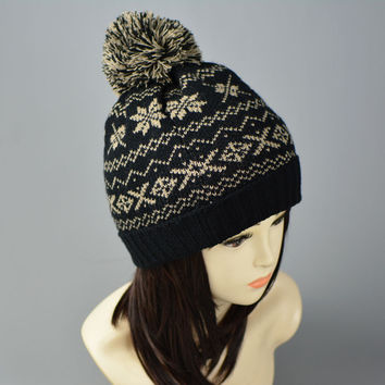 Winter Heavy The Ball Keep Warm Hat