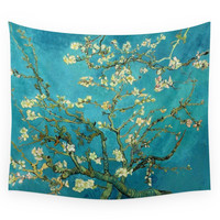 Society6 Vincent Van Gogh Blossoming Almond Tree Wall Tapestry