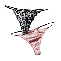 100% pure REAL SILK basic women PANTIES high quality pink Sexy ladies thong G-string TANGA calcinha briefs underwear hipster