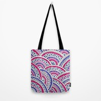 Berry Horizons Tote Bag by Sarah Oelerich