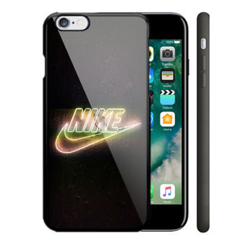 New Best Nike Light iPhone 5 5s 5c 6 6s 7 Plus SE Hard Plastic Case