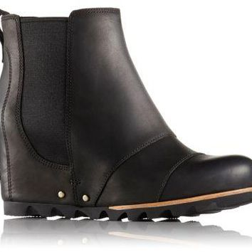Sorel Lea Wedge in Black