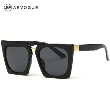AEVOGUE Cool Cat Eye Sunglasses Women Summer Style Sun Glasses Brand Designer Vintage Gafas Oculos De Sol UV400 AE0268